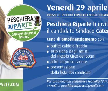 Vieni a cena con il candidato sindaco Caterina Molinari!