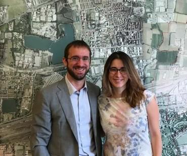 Caterina Molinari incontra il Sindaco di Segrate Paolo Micheli