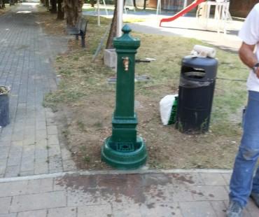 È spuntata la fontanella a Linate