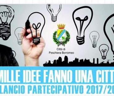 Grazie al bilancio partecipativo puoi contribuire a migliorare la nostra città con un tuo progetto!