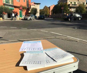 Amministrazione al mercato e a Linate per la settimana della legalità!