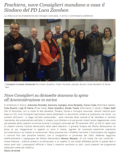 20151207 - Dimissioni 9 consiglieri - 7giorni