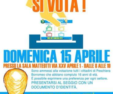 Bilancio partecipativo! Domenica 15 aprile si vota!