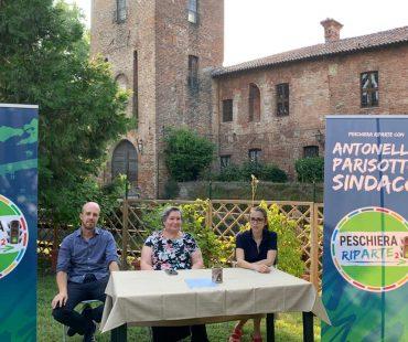 Peschiera Riparte con Antonella Parisotto Sindaco