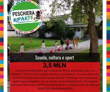 Scuola, cultura, sport